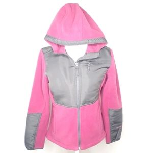 Free Country Medium Pink Gray Jacket Live In It